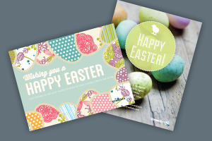 Easter Postcards from Xpressdocs