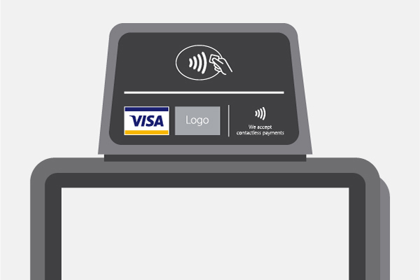 EMV Chip POS Decals